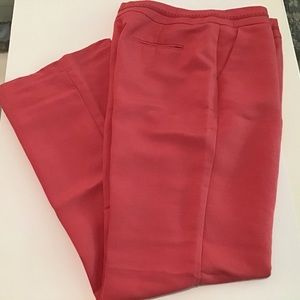 Pants 14 Coral, 55% Linen,  by Emma James